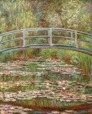 Water Lily Pond, c.1899 by Claude Monet
