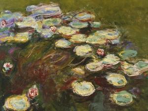 Waterlilies, 1914-17 (Detail) by Claude Monet