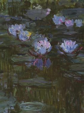 Waterlilies, 1914-17 (Detail) by Claude Monet