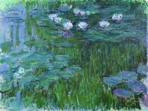 Waterlilies, 1914-17 by Claude Monet