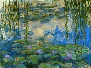 Waterlilies, 1916-1919 by Claude Monet