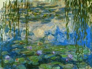 Waterlilies, 1916-1919 by Claude Monet