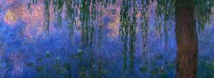 Waterlilies and Willows by Claude Monet