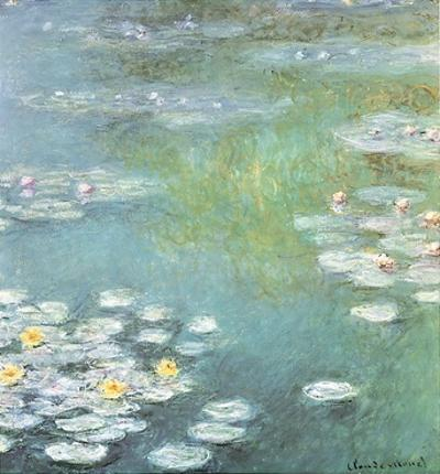 Waterlilies at Giverny, 1908 by Claude Monet