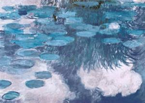 Waterlilies, c.1917 by Claude Monet