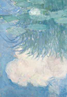 Waterlilies, Detail, 1914-17 by Claude Monet