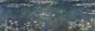 Waterlilies: Green Reflections, 1914-18 by Claude Monet