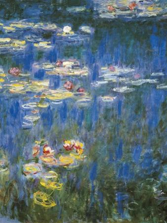 Waterlilies: Green Reflections by Claude Monet