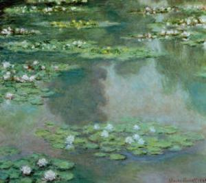 Waterlilies I 1905 by Claude Monet