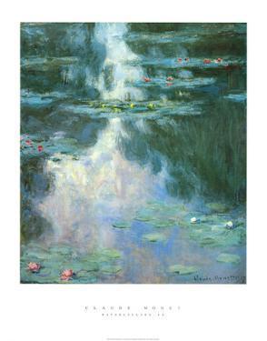 Waterlilies II by Claude Monet