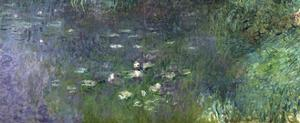 Waterlilies: Morning, 1914-18 (Right Section) by Claude Monet