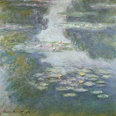Waterlilies, Nympheas, 1908 by Claude Monet