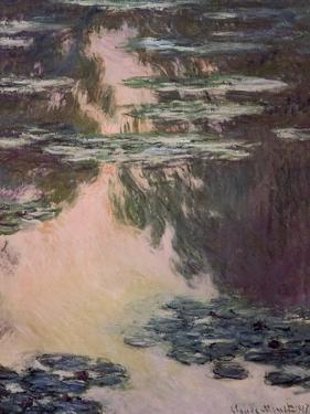 Waterlilies with Weeping Willows, 1907 by Claude Monet