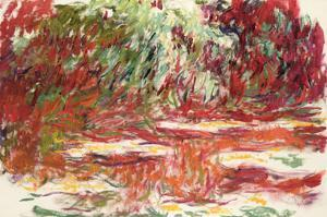 Waterlily Pond, 1918-19 by Claude Monet