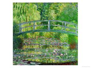 Waterlily Pond, Green Harmony, 1899 by Claude Monet