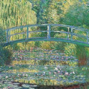 Waterlily Pond Green Harmony by Claude Monet