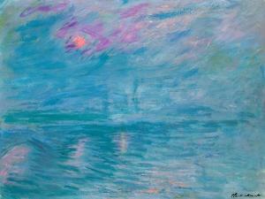 Waterloo Bridge, 1899-1903 by Claude Monet