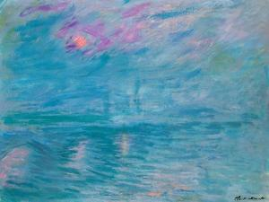Waterloo Bridge, 1899-1903 by Claude Monet