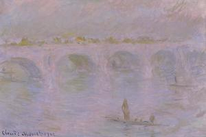Waterloo Bridge in London, 1902 by Claude Monet