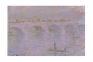 Waterloo Bridge in London, 1902 by Claude Monet