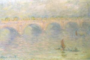 Waterloo Bridge (Light Effects) by Claude Monet