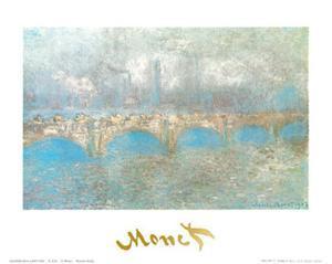 Waterloo Bridge by Claude Monet
