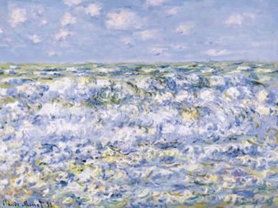 Waves Breaking by Claude Monet