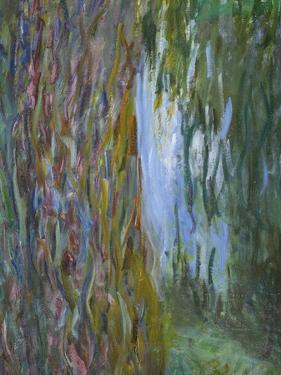 Weeping Willow and the Waterlily Pond, 1916-19 (Detail) by Claude Monet
