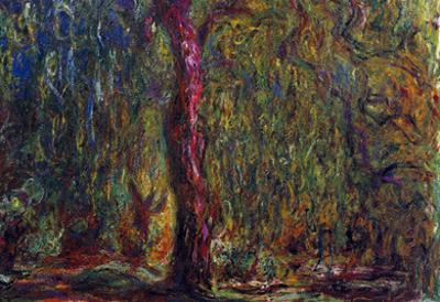 Claude Monet Weeping Willow Art Print Poster