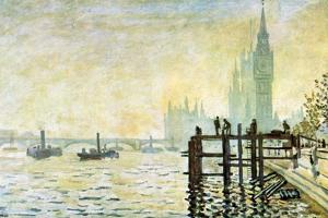 Claude Monet Westminster Bridge in London