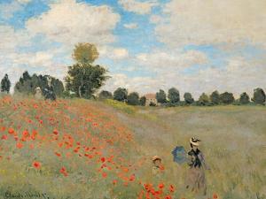 Wild Poppies, Near Argenteuil (Les Coquelicots: Environs D'Argenteuil), 1873 by Claude Monet