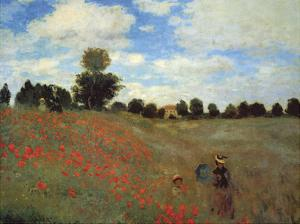 Wild Poppies by Claude Monet