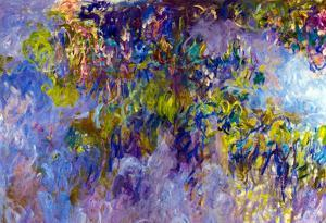 Claude Monet Wisteria Art Print Poster