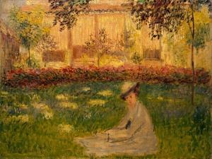 Woman in a Garden, 1876 by Claude Monet