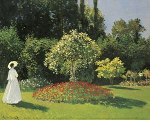 Woman in the Garden by Claude Monet