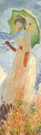 Woman with Parasol (detail) by Claude Monet