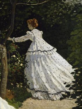 Women in the Garden, Detail by Claude Monet