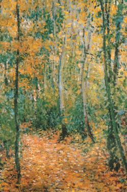 Wood Lane by Claude Monet