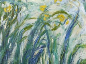 Yellow and Purple Irises, 1924-25 (Detail) by Claude Monet