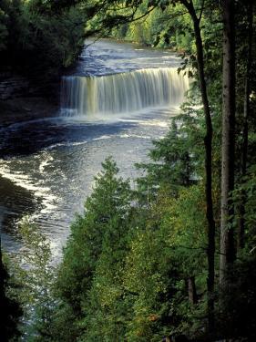 Tahquamenon Falls, Tahquamenon Falls State Park, Michigan, USA by Claudia Adams