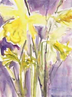 Daffodils, 2004 by Claudia Hutchins-Puechavy