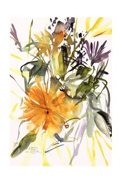 Marigold and Other Flowers, 2004 by Claudia Hutchins-Puechavy