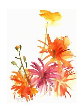 Marigolds and Other Flowers, 2004 by Claudia Hutchins-Puechavy