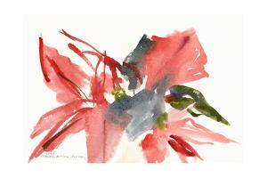 Poinsettia, 2003 by Claudia Hutchins-Puechavy