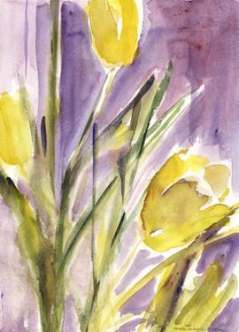 Tulips, 1987 by Claudia Hutchins-Puechavy