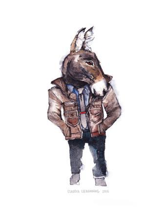 Jeffrey the Mule by Claudia Libenberg