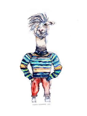 Nigel the Llama by Claudia Liebenberg
