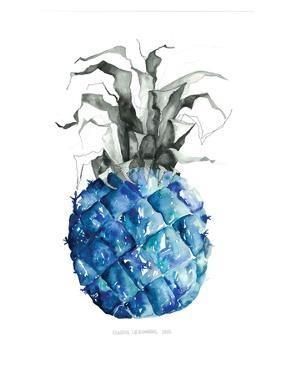 Pineapple_blue by Claudia Liebenberg