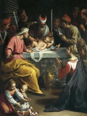 Circumcision of Christ by Claudio Ridolfi
