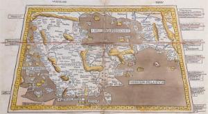 Sexta Asiae Tabula, 1482 by Claudius Ptolemy